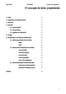 t7 concepto de texto. propiedades