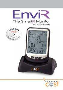 Table of contents. Before you get started Safety and care of your EnviR monitor. Introduction 3