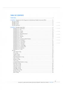 TABLE OF CONTENTS FOREWORD...3