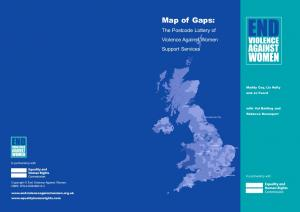 Table of Contents. Map of Gaps 2007 Copyright End Violence Against Women Published by End Violence Against Women ISBN: