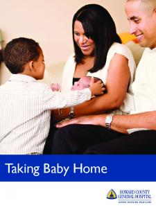 Table of Contents. Soothing Baby Sleep Time Feeding Your Baby Baby Hygiene Basic Care... 13