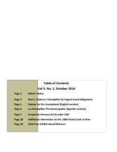 Table of Contents Vol 5, No. 2, October 2016