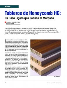 Tableros de Honeycomb HC: