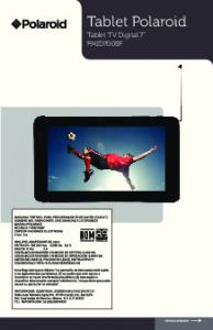 Tablet Polaroid Tablet TV Digital 7 PMID700BF
