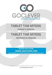TABLET TAB M703G TABLET TAB M703G
