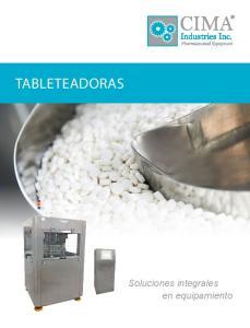 Tableteadoras. Soluciones integrales en equipamiento