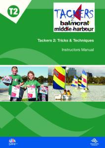 Tackers 2: Tricks & Techniques. Instructors Manual