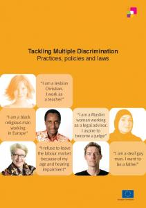 Tackling Multiple Discrimination Practices, policies and laws
