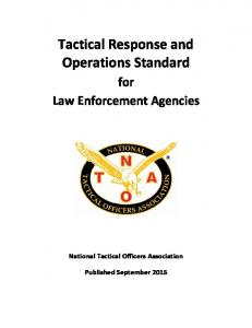 Tactical Response and Operations Standard