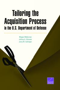 Tailoring the Acquisition Process