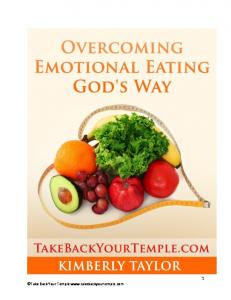 Take Back Your Temple