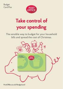 Take control of your spending