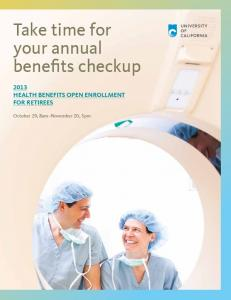Take time for your annual benefits checkup