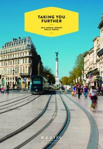 TAKING YOU FURTHER 2014 ANNUAL REPORT KEOLIS GROUP
