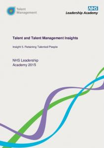 Talent and Talent Management Insights