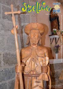 Talla en madera del Apostol Santiago Fuenterroble de Salvatierra (Salamanca)