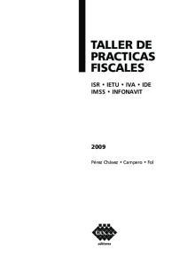 TALLER DE PRACTICAS FISCALES