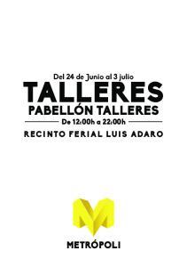TALLERES PABELLÓN TALLERES