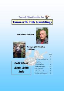 Tamworth Folk Ramblings