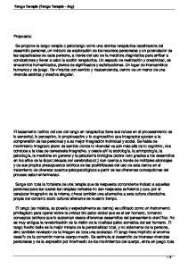 Tango Terapia (Tango Terapia - Arg) Propuesta:
