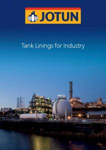 Tank Linings for Industry