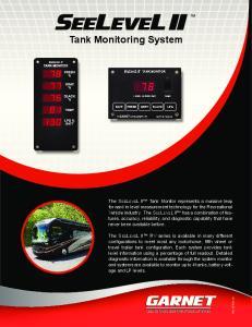 Tank Monitoring System