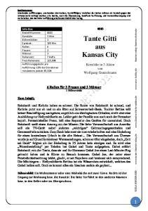 Tante Gitti aus Kansas City