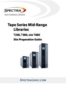 Tape Series Mid-Range Libraries