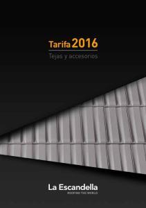 Tarifa Tejas y accesorios