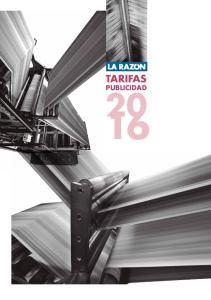 TARIFAS 20 PUBLICIDAD 16
