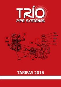 TARIFAS 2016 tarifas 2014