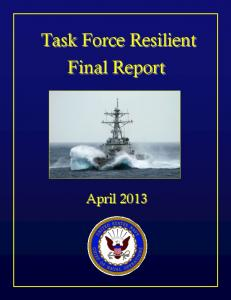 Task Force Resilient Final Report