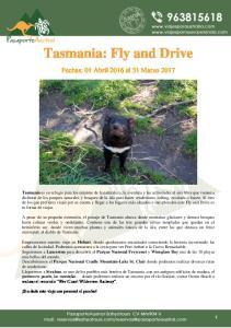 Tasmania: Fly and Drive