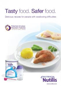 Tasty food. Safer food