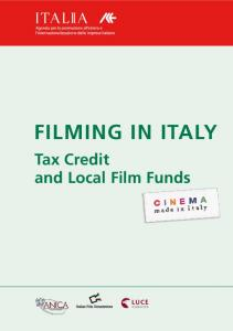 Tax Credit and Local Film Funds