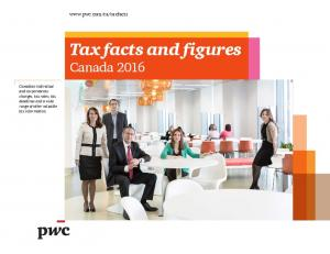 Tax facts and figures Canada 2016
