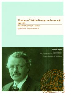 Taxation of dividend income and economic growth