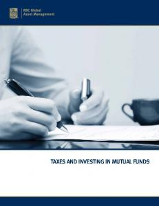 TAXES AND INVESTING IN MUTUAL FUNDS