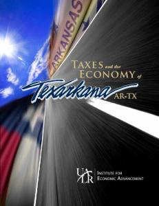 Taxes and the Economy of