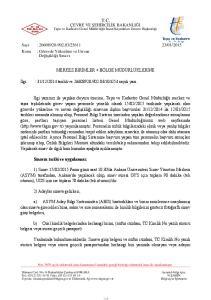 T.C. ÇEVRE VE ŞEHİRCİLİK BAKANLIĞI. Tapu ve Kadastro Genel Müdürlüğü İnsan Kaynakları Dairesi Başkanlığı
