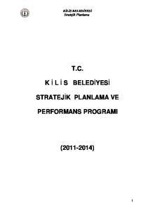 T.C. PERFORMANS PROGRAMI ( )