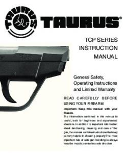 TCP SERIES INSTRUCTION MANUAL