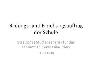TDS Daun