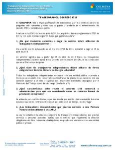 TE ASESORAMOS, DECRETO 0723