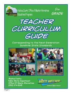 Teacher Curriculum Guide
