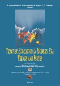 Teacher Education in Modern Era