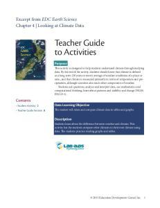 Teacher Guide to Activities
