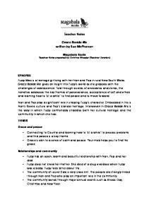 Teacher Notes. Grace Beside Me written by Sue McPherson