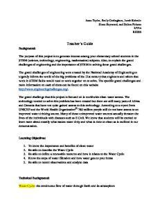 Teacher s Guide. Background: