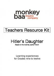 Teachers Resource Kit